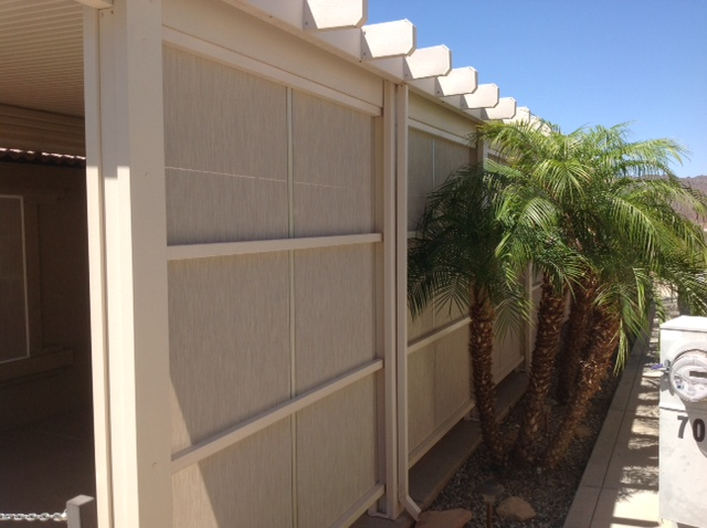Aluminum Shade Products Desert Awning Parker Arizona